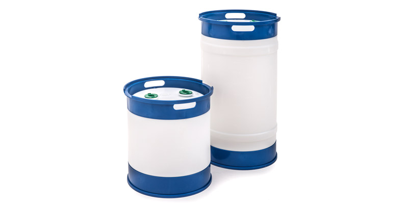 15 & 30 Gallon Plastic Drums